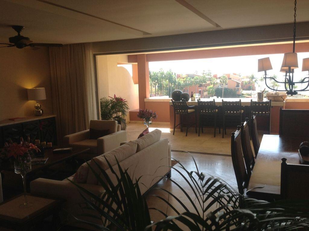 living area las residencias golf resort and spa located in casa del mar cabo san lucas