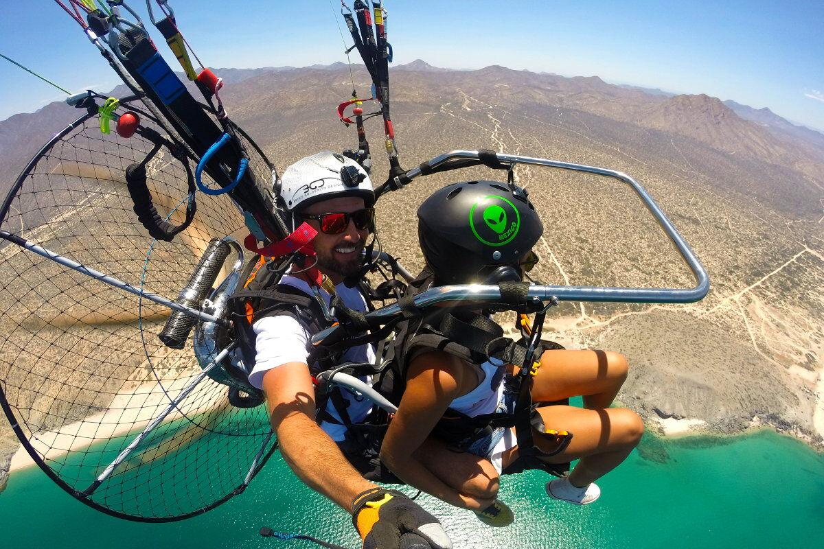 Paragliding Los Cabos