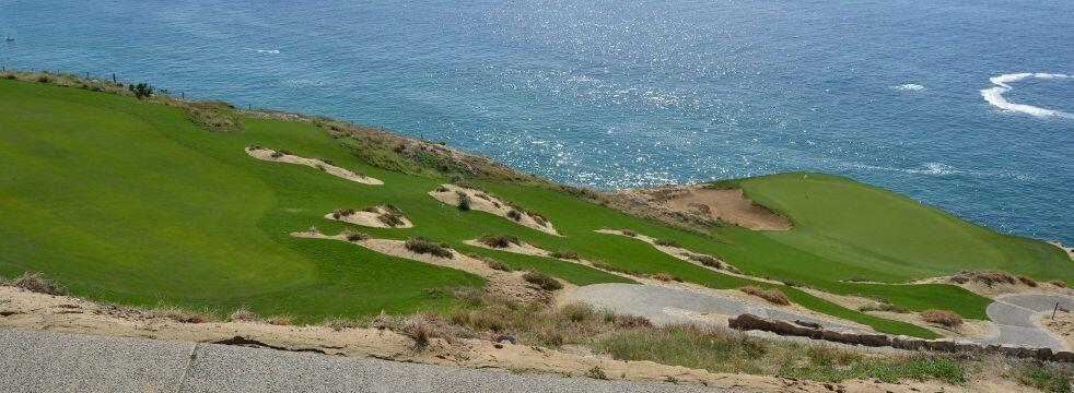 quivira golf course los cabos with spectacular oceanside cliffs and gorgeous views, newest Nicklaus design golf cours in Cabo San Lucas