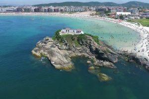 CABO FRIO_ Praia do Forte drone