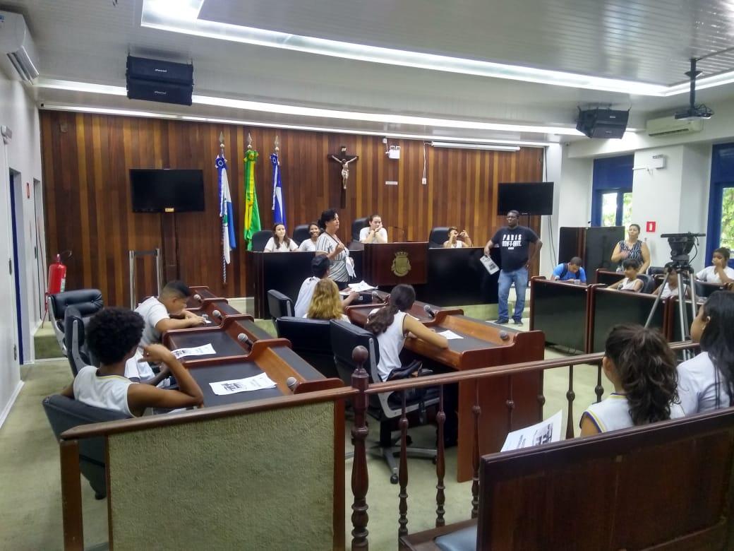 Câmara de Cabo Frio retorna com o projeto Vivenciando o Legislativo