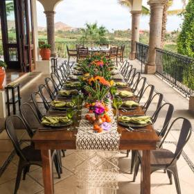 Dinner Party in los Cabos