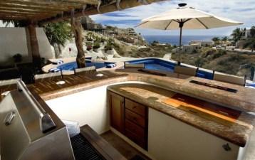 villa del toro rojo pedregal cabo san lucas luxury villa rentals in los cabos outdoor kitchen