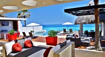 casa mateo in los cabos luxury vacation rentals pool deck