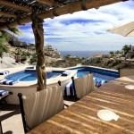 villa del toro rojo pedregal cabo san lucas luxury villa rentals in los cabos pool deck