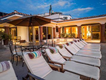 casa theodore in Pedregal los cabos luxury vacation villas cabo san lucas sun deck