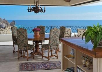 villa la roca pedregal cabo san lucas luxury villa rentals in los cabos dining