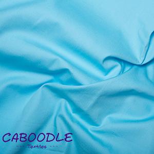 Sky Blue 100% Cotton Poplin Fabric
