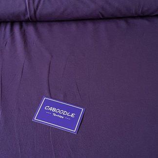Dark Purple, Cotton Lycra Jersey Knit Fabric