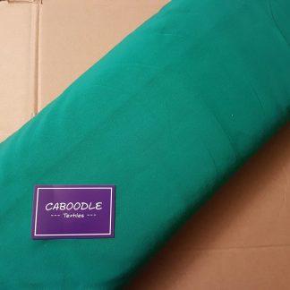 Emerald Green, Cotton Lycra Jersey Knit Fabric