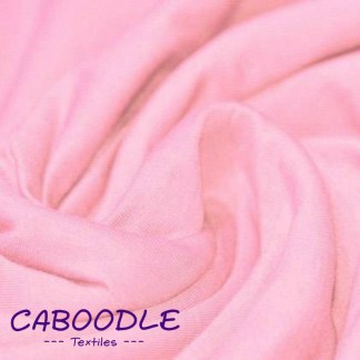 Baby Pink - Cotton Lycra Jersey Knit Fabric
