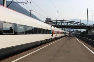 ICN Bahnhof Brunnen