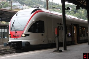 TILO RABe 524 106 in Bellinzona