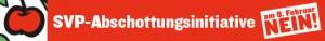 Banner des Contra-Komitees zur SVP-Abschottungsinitiative