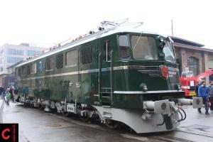 Wurde an der SwissHistorik das erste Mal präsentiert: Die frisch restaurierte Ae 6/6 11407