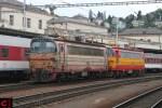 ZSSK 240 001-8 und 240 095-0 in Bratislava