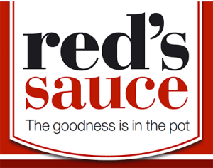 red's sauce label