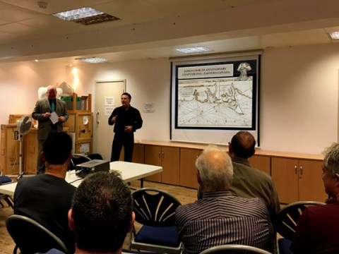 Cabox Geopark Chairperson Presents at UK's Captain Cook Museums
