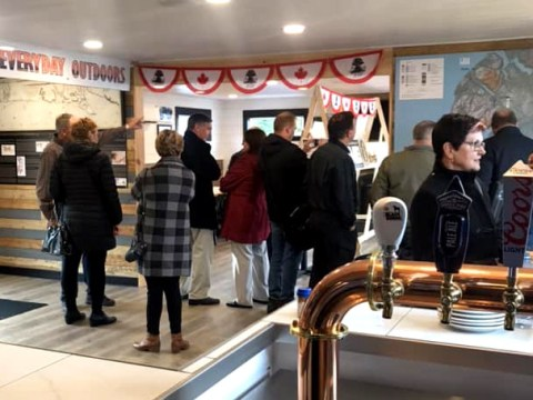 Cabox Information Center Launches at New Saltbox Restaurant in Benoit's Cove