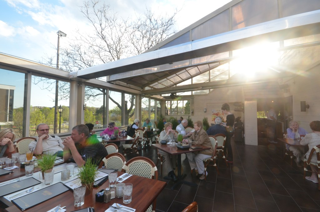 Eden Avenue Grill (The Hilltop) with year round outdoor patio seating