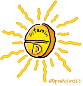 vit d open patio 365