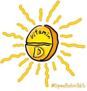 vit d open patio 365