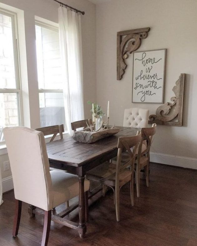 A Simple Design Dining Room Wall with Vintage-Inspired Accents- Cabritonyc.com