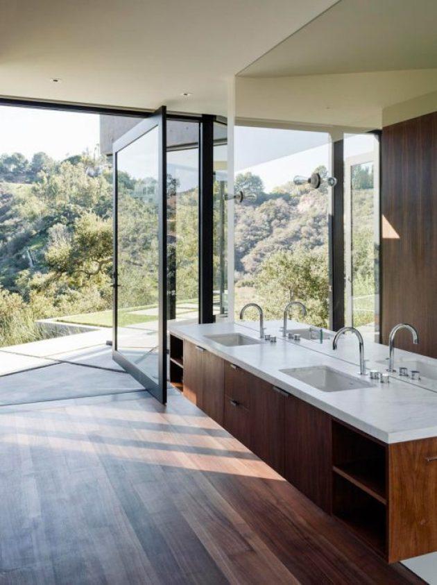 Bathroom Mirror Ideas - A Single Large Mirror 3 - Cabritonyc.com