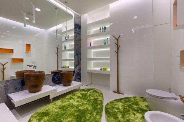 Bathroom Mirror Ideas - A Single Large Mirror 4 - Cabritonyc.com