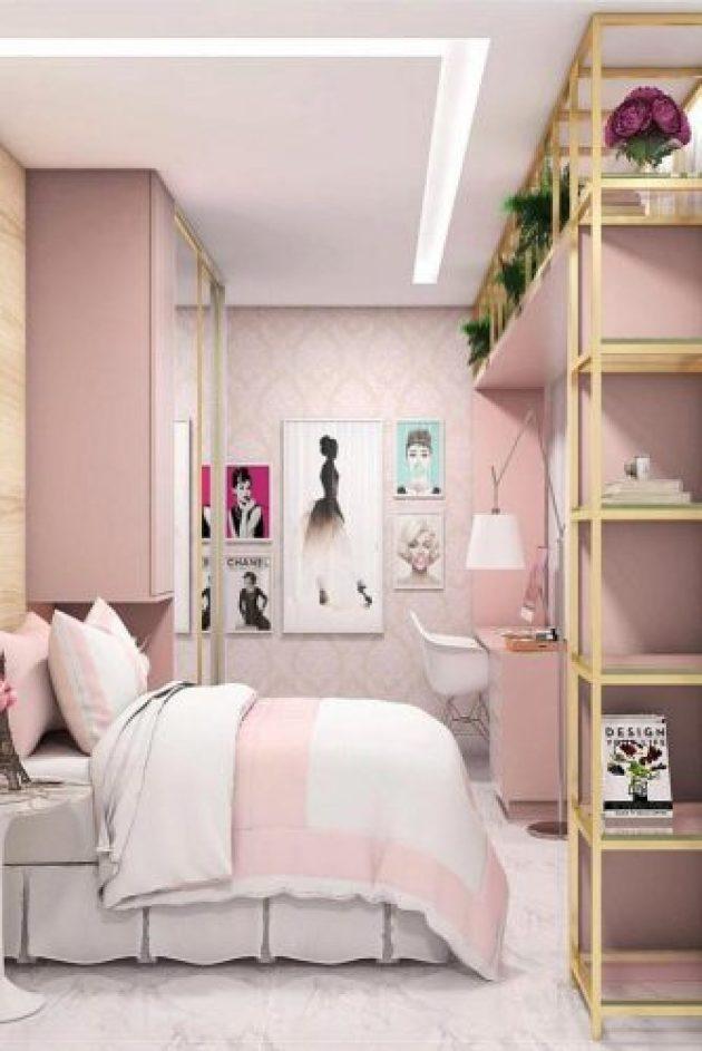 Teenage Girl's Bedroom Ideas - Easy And Clever Teen Bedroom Idea - Cabritonyc.com