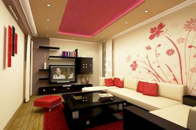 Accent Wall Ideas - Gorgeous With Floral Designs B Cabritonyc.com