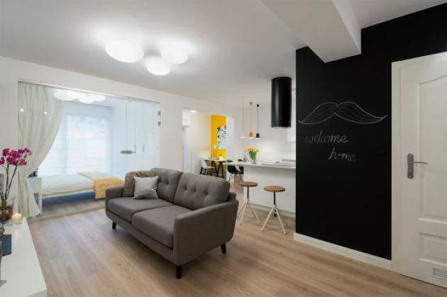 Accent Wall Ideas - Alluring Chalkboard B - Cabritonyc.com