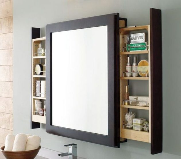 Bathroom Storage Ideas - Mirrors in Disguise - Cabritonyc.com