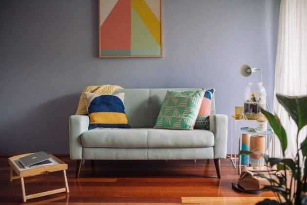 Painted an Accent Wall Ideas Living Room - Cabritonyc.com