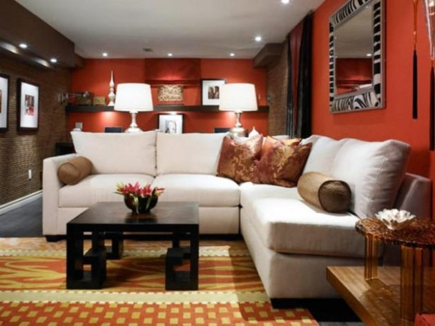 Low Basement Ceiling Ideas - Use a matte finish on the ceiling - Cabritonyc.com