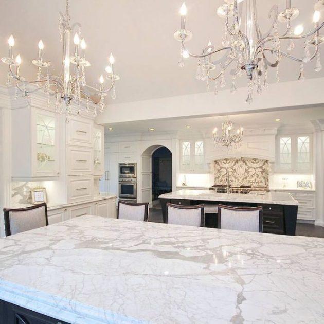 Kitchen Lighting Ideas - Glam Chandeliers E - Cabritonyc.com