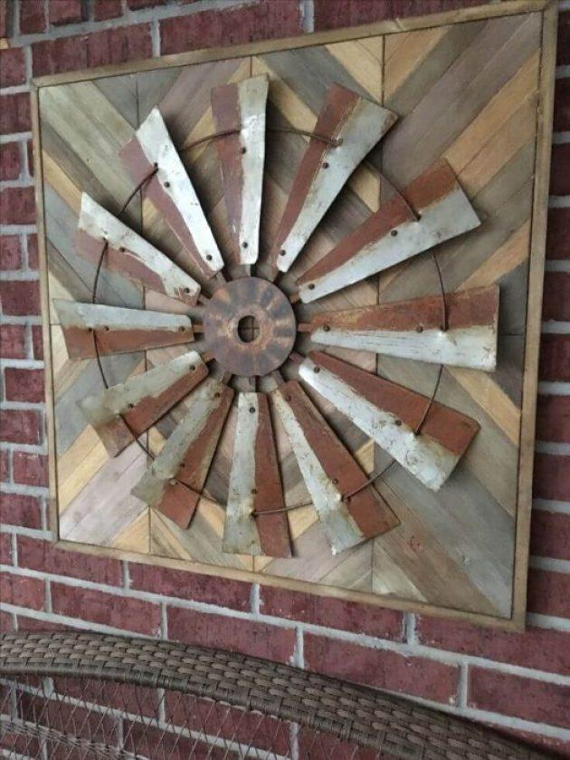 Farmhouse Porch Decorating Ideas - Artful Prairie Mill Porch Display - Cabritonyc.com