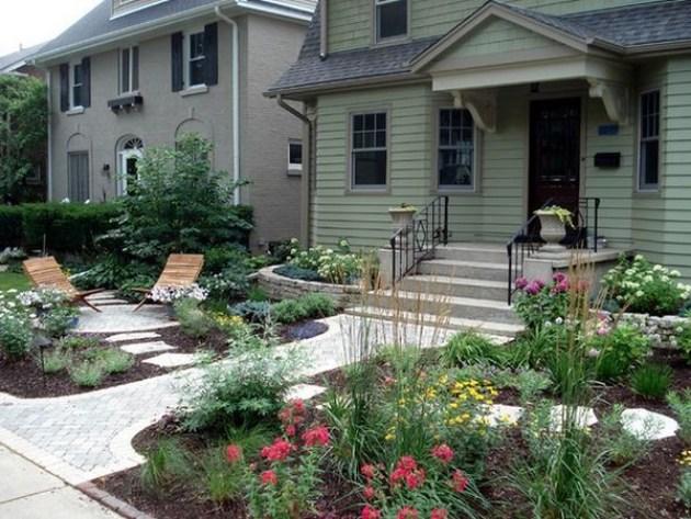 Garden Front Yard Landscaping Ideas