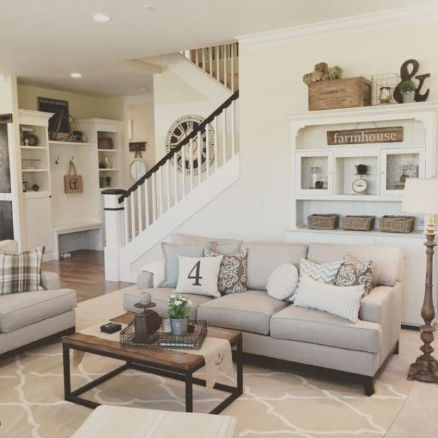 Rustic Chic Living Rooms Ideas - Elegant Oldime Farmhouse - Cabritonyc.com