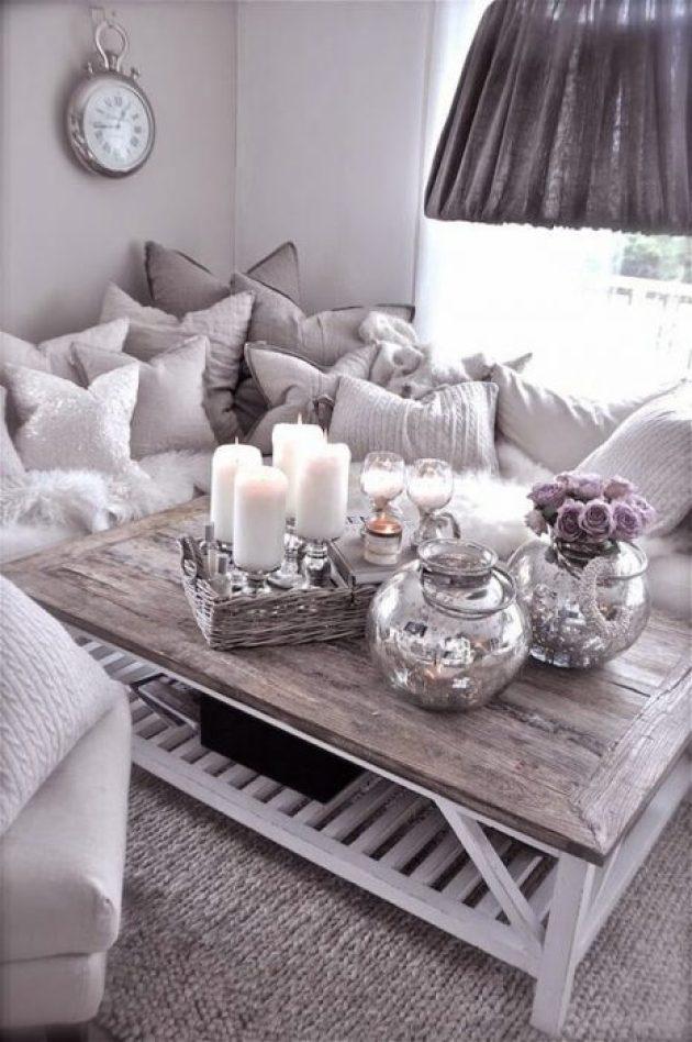 Rustic Chic Living Rooms Ideas - A Fluffy Angel's Rusty Paradise - Cabritonyc.com