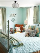 Small Master Bedroom Ideas Get the Blues