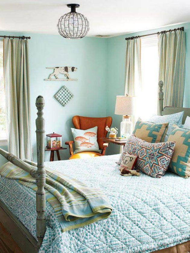 Romantic Master Bedroom Decor Ideas - Get the Blues - Cabritonyc.com