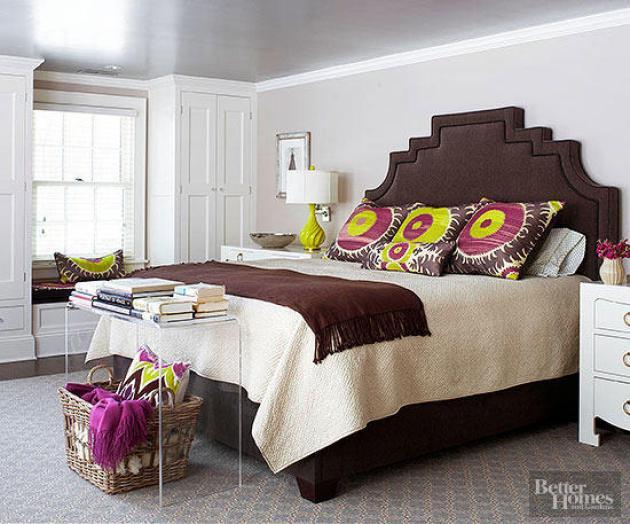 Small Master Bedroom Decor Ideas - Headboard Star - Cabritonyc.com