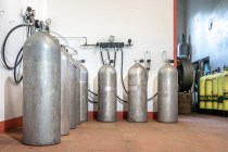 Cabrits Dive Center - Air tanks