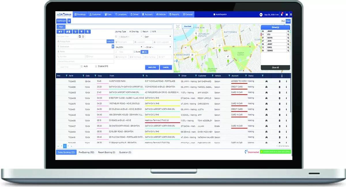 Cloud Dispatch System