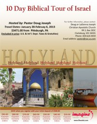 Israel 2013 - Brochure