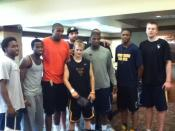 Zach-Miracle-60-Zach-with-WVU-Basketball-Team-at-HealthSouth-2012-07-19