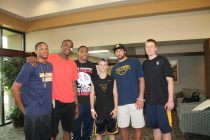 Zach-Miracle-77c-Zach-with-WVU-Basketball-Team-at-HealthSouth-2012-07-19