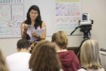 Media training.