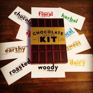 "Eagranie Yuh's ""The Chocolate Tasting Kit"""